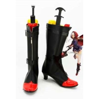 ゴッドイーター    リヴィ コレット     風 ブーツ、靴★ コスプレ道具/小物 *D576