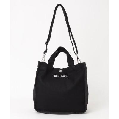トートバッグ バッグ 【BEN DAVIS/ベンデイビス】BOXトートL: BDW−8084 トートバッグ ショルダーバッグ 2WAY