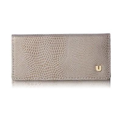[ユー バイ ウンガロ] 財布 【ピエッツ】 外ポケット付二つ折財布 UULW6HS3 グレー