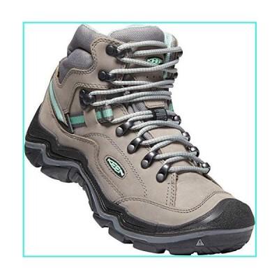 【新品】KEEN Durand II Mid Waterproof Leather Hiking Boot, Grey Flannel/Steel Grey, 10 M US(並行輸入品)