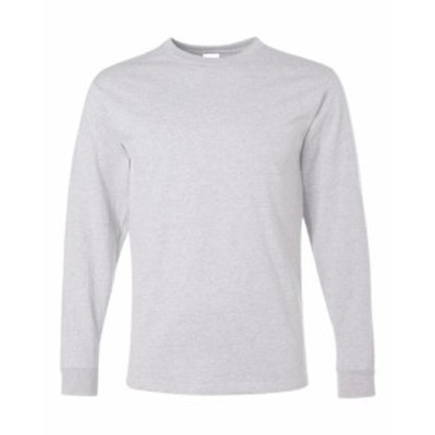 ファッション トップス Jerzees Mens 5.6 oz. 50/50 Heavyweight Blend Long-Sleeve T-Shirt 29L S-3XL