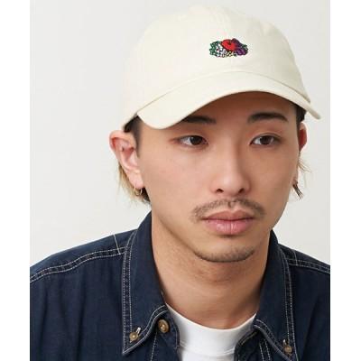JUGLANS / FRUIT OF THE LOOM LINEN LOGO EMB LOW CAP MEN 帽子 > キャップ