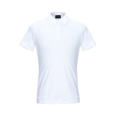 エンポリオ アルマーニ EMPORIO ARMANI ポロシャツ ホワイト XS コットン 100% ポロシャツ