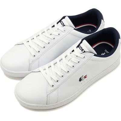 ラコステ LACOSTE レディース カーナビー エヴォ W CARNABY EVO TRI 1 スニーカー 靴 WHT NVY RED ホワイト系 SFA0048-407 SS20