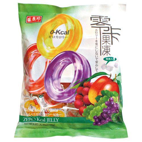 盛香珍 零卡果凍-綜合口味