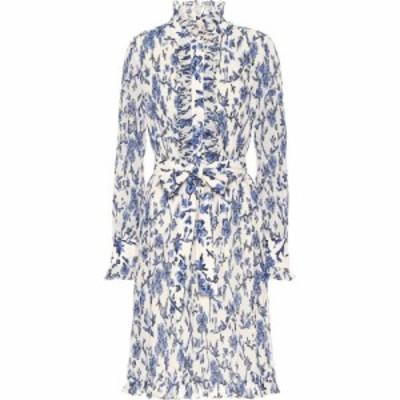 トリー バーチ Tory Burch レディース ワンピース ワンピース・ドレス Floral Minidress Blue Branches