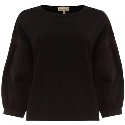 フェイズ エイト Phase Eight レディース ニット・セーター トップス Winnie Woven Sleeve Knit Black