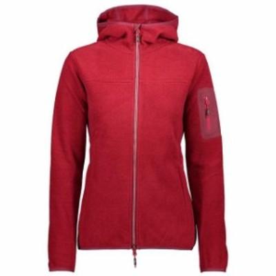 cmp シーエムピー アウトドア 女性用ウェア フリース cmp woman-jacket-fix-hood