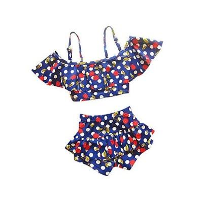 (ココイチヤ) COCO1YA 子供 水着 キッズ 女の子 セパレート 120 130 140 cm 子供水着 2点セット 女の子 みずぎ
