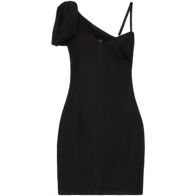 クラス ロベルト カヴァリ CAVALLI CLASS ミニワンピース&ドレス ブラック 40 ポリエステル 100% / レーヨン / ポリウレタ