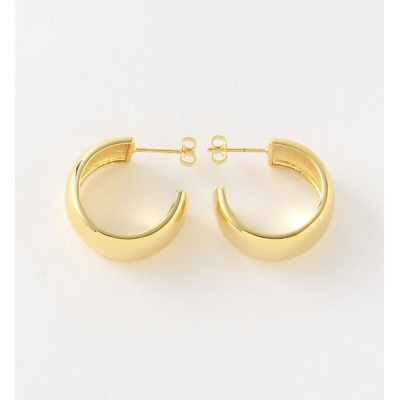 【ラブレス/LOVELESS】 【MOYA】WOMEN ピアス GIORGIA HOOP EARRINGS 14CT GOLD PLATEDBRASS MOYA001GP