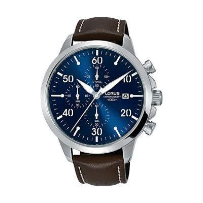 Lorus Mens Chronograph Quartz Watch with Leather Strap RM353EX9 並行輸入品