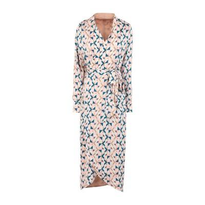 NEVER FULLY DRESSED 7分丈ワンピース・ドレス アイボリー 6 ポリエステル 100% 7分丈ワンピース・ドレス