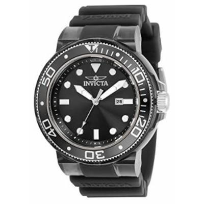 特別価格送料無料Invicta Pro Diver Quartz Black Dial Mens Watch 32330好評販売中
