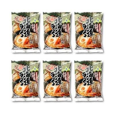 新商品北海道かに風味味噌ラーメン 70g×6個 本物志向 熟成乾燥麺