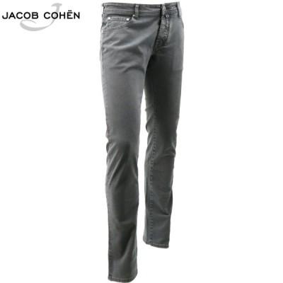 ヤコブコーエン JACOB COHEN ストレッチ 5ポケット タイトフィット ウォッシュド ストレートデニム J622 COMF 1863-V 10361 05(グレー)