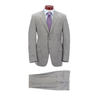 ハート シャフナー マルクス メンズ ジャケット・ブルゾン アウター Modern Fit Solid Grey Wool Suit
