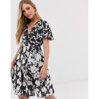 フレンチコネクション レディース ワンピース トップス French Connection devore floral dress