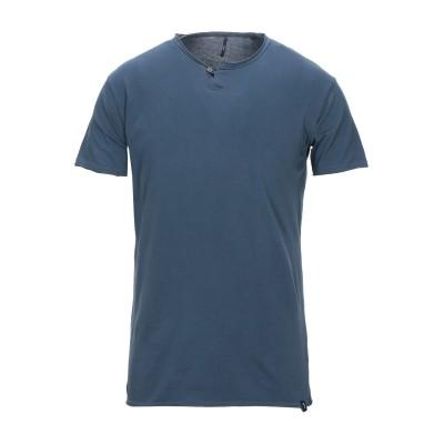 IMPURE T シャツ ブルーグレー S コットン 100% T シャツ