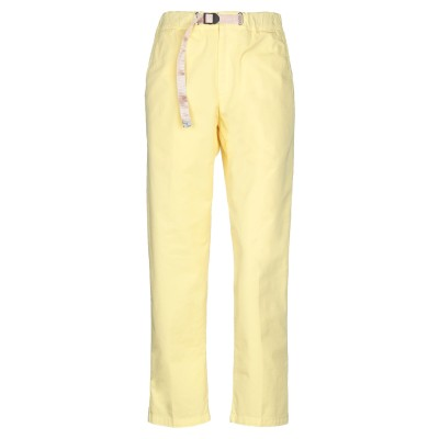 WHITE SAND 88 パンツ イエロー 0 コットン 97% / ポリウレタン 3% パンツ