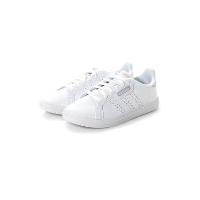 アディダス adidas レディース スニーカー COURTPOINTCLX FW3254 (ホワイト)
