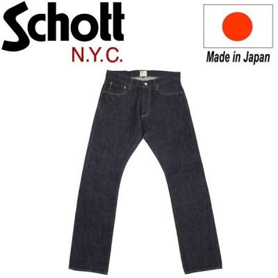 Schott (ショット) 13oz. JEANS NARROW FIT (13オンス ジーンズ ナロー フィット) 日本製 INDIGO
