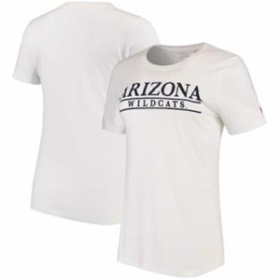 League Collegiate Wear リーグ コレクティブル ウェア スポーツ用品  Arizona Wildcats Womens White League Freshy