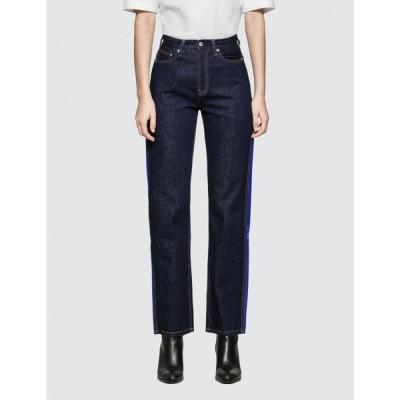 カルバンクライン Calvin Klein Jeans レディース ジーンズ・デニム ボトムス・パンツ High Rise Straight Side Stripe Indigo