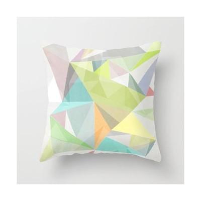 ソサエティシックス Society6 ブランド クッション 正方形 デザイナー おしゃれ - M:約45cm × 約45cm 45×45