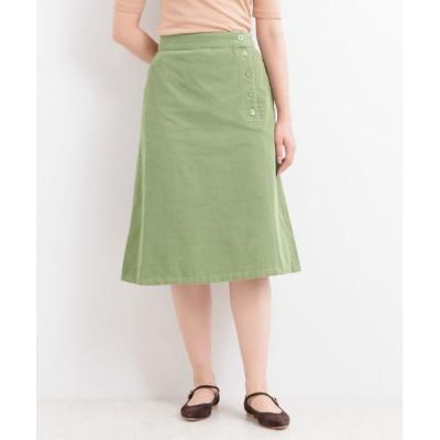 LA MARINE FRANCAISE / コットンコーデュロイ スカート WOMEN スカート > スカート