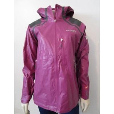 columbia コロンビア ファッション 衣類 NWT Womens M Columbia Outdry EX Diamond II Shell Hooded Rain Jacket Purple
