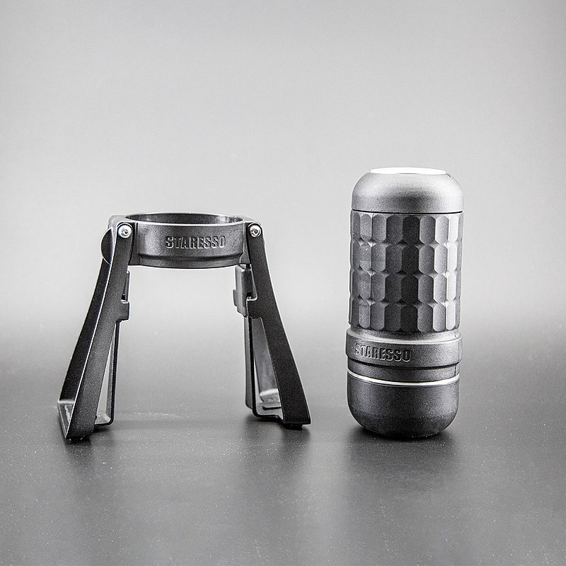 Staresso 第三代便攜式咖啡機升級版 全黑特仕款 台灣獨家