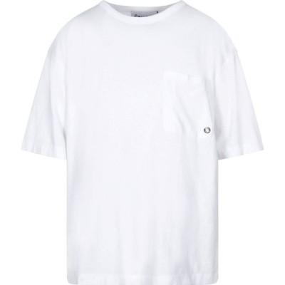 エチュード ETUDES メンズ Tシャツ トップス T-Shirt White