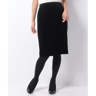 ANAYI/アナイ トリアセベロアタイトスカート ブラック5 36