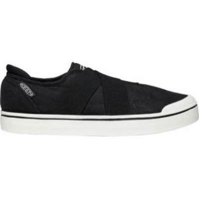 キーン レディース スニーカー シューズ KEEN Women's Elsa IV Gore Slip-On Shoes Black/Star White