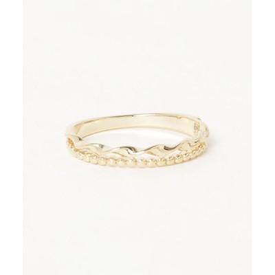 指輪 【Kahiko】ツイストウェーブリング