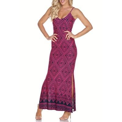 ホワイトマーク レディース ワンピース トップス Nila Maxi Dress