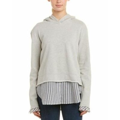ファッション 衣類 Wilt 2Fer Hoodie Xs Grey