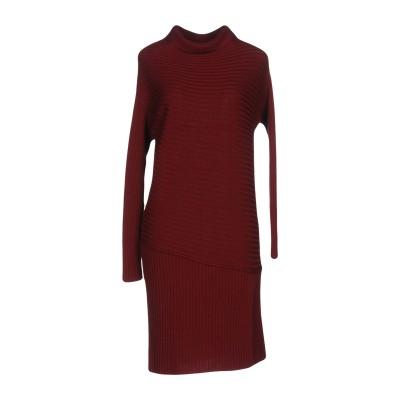 ANNINA ミニワンピース&ドレス ボルドー XS ウール 100% ミニワンピース&ドレス