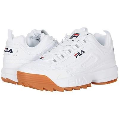 フィラ Disruptor II Premium メンズ スニーカー 靴 シューズ White/Fila Navy/Gum