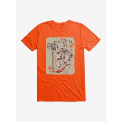 ノーブランド no brand メンズ Tシャツ トップス Paper Sonic Step It Up T-Shirt