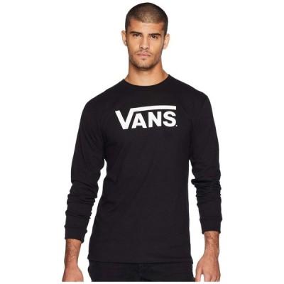 ヴァンズ Vans メンズ 長袖Tシャツ トップス Classic L/S Tee Black/White