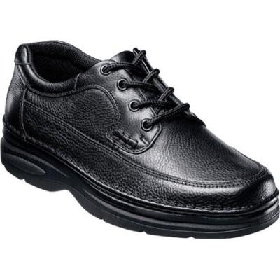 ナンブッシュ Nunn Bush メンズ 革靴・ビジネスシューズ モックトゥ シューズ・靴 Cameron Moc Toe Oxford Comfort Gel Black Tumble