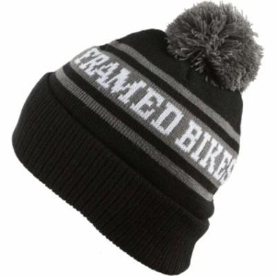 フレームド Framed メンズ ニット ビーニー 帽子 Ball Beanie Black/Grey