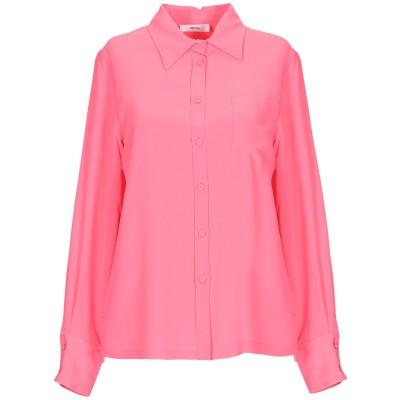 マウロ グリフォーニ MAURO GRIFONI シャツ ピンク 42 アセテート 69% / シルク 31% シャツ