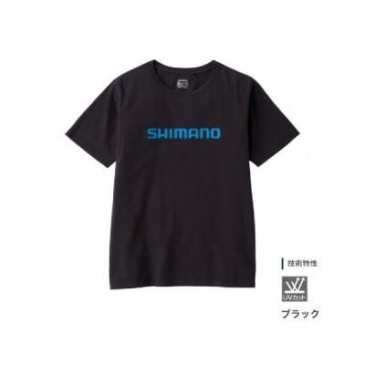 シマノ (Shimano) SH-096U ブラック Mサイズ スタンダードTシャツ(半袖)