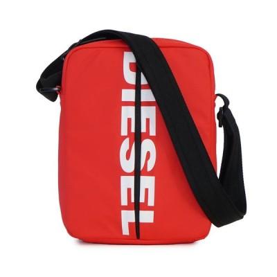 ディーゼル ショルダーバッグ 【F-BOLD SMALL CROSS】 X05478 P1705 レッド系(T4032/RED) DIESEL 【bgm】