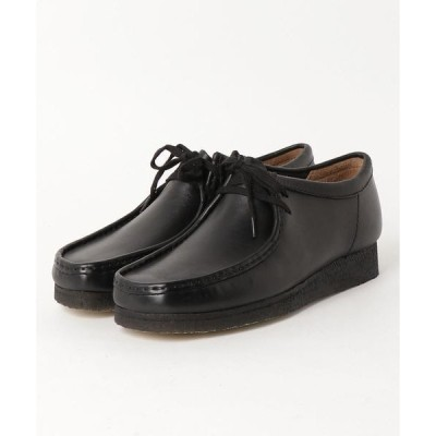 シューズ Clarks / Wallabee (Black Leather)