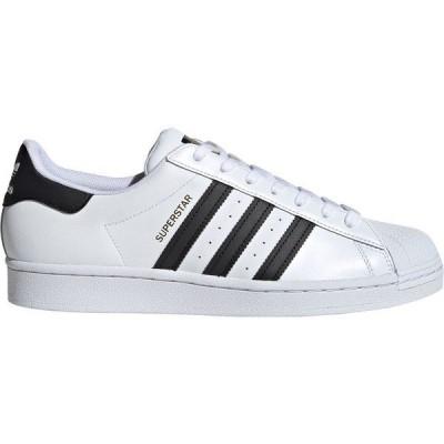 アディダス スニーカー シューズ メンズ adidas Originals Men's Superstar Shoes White/White/Black