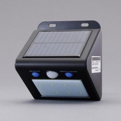 エスコ(ESCO) 8灯 LEDセンサーライト(ソーラー充電式) EA864CB-48
